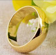 Магнит золотое обручальное кольцо